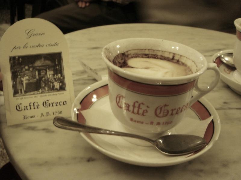 The ancient Greek coffee